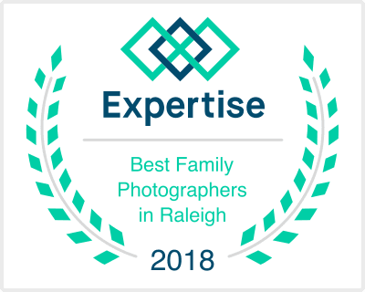Expertise 2018 Best Family Photographers awarded to Laura Ann Photography Raleigh NC
