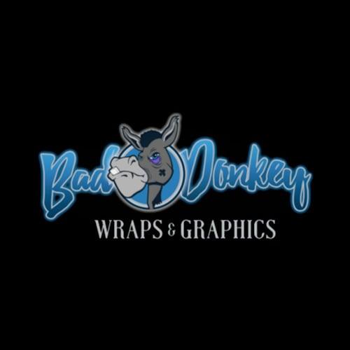 Bad donkey wraps graphics