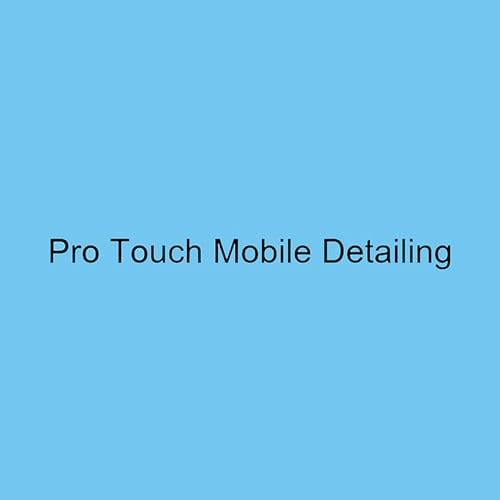 Pro Touch Mobile Detailing