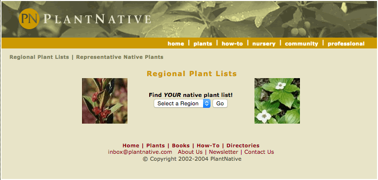 Local Plants Database