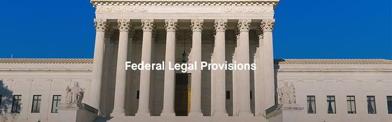 Federal Legal Provisions: Government Building