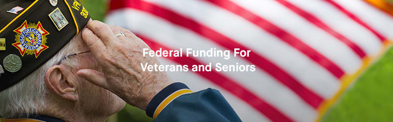 Federal Funding for Veterans and Seniors: Image of Veteran